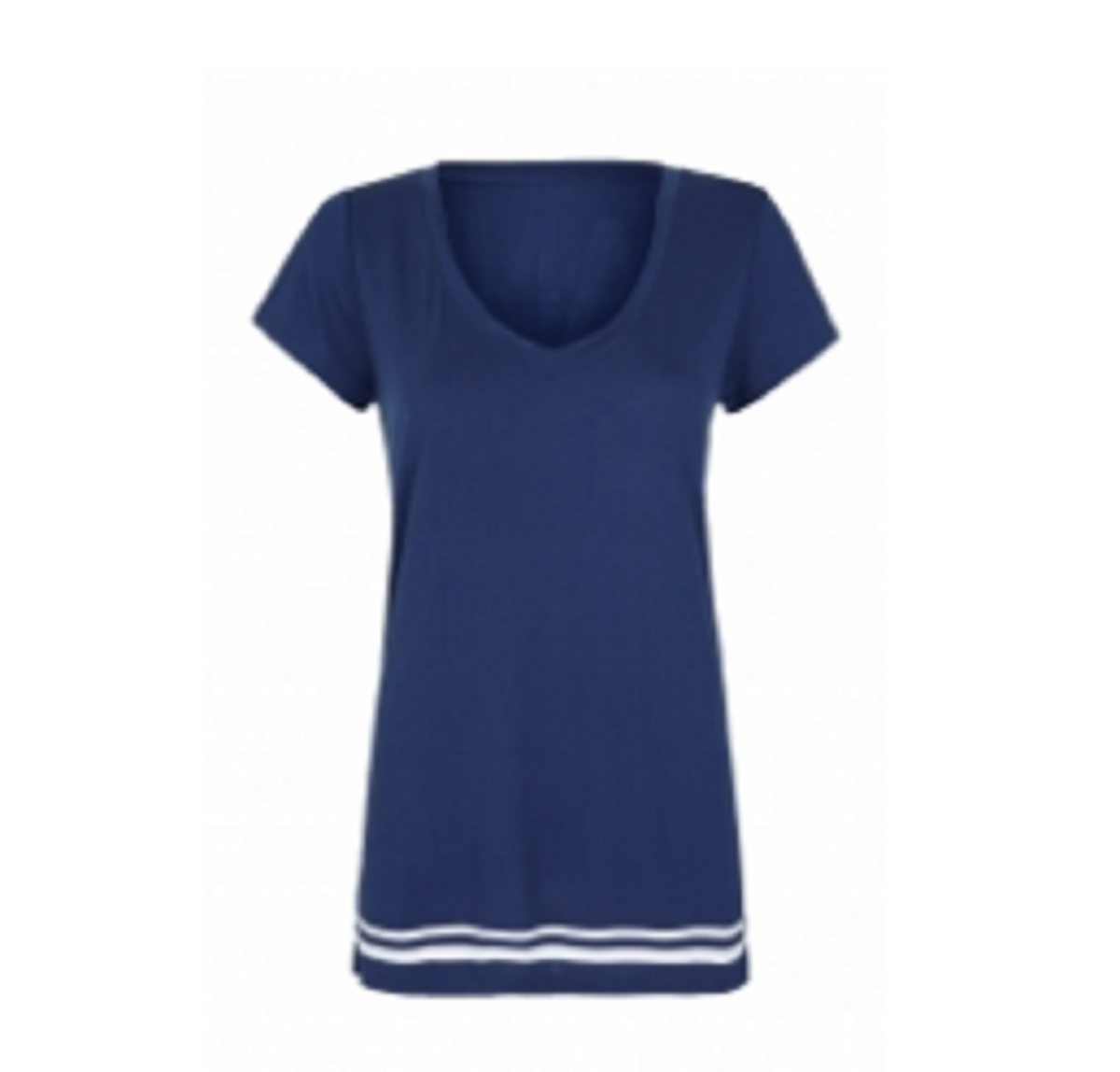 Ladies Sports Tops  Blue & White  TSI­-3401