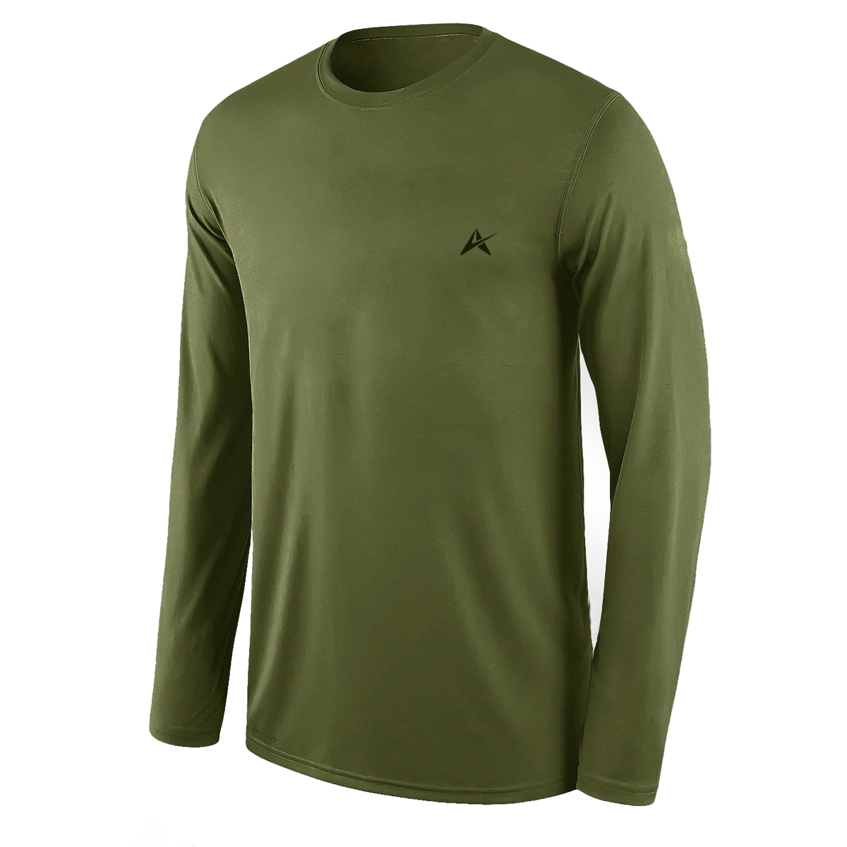 Men's Full Sleeve Classic-Fit Performance Cotton T-Shirt AI-007