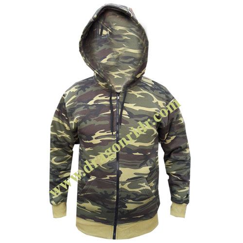Jungle Fleece Hoodies  DRH- 1712