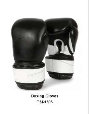 Genuine Leather Pro Style Boxing  Training Gloves TSI 1306