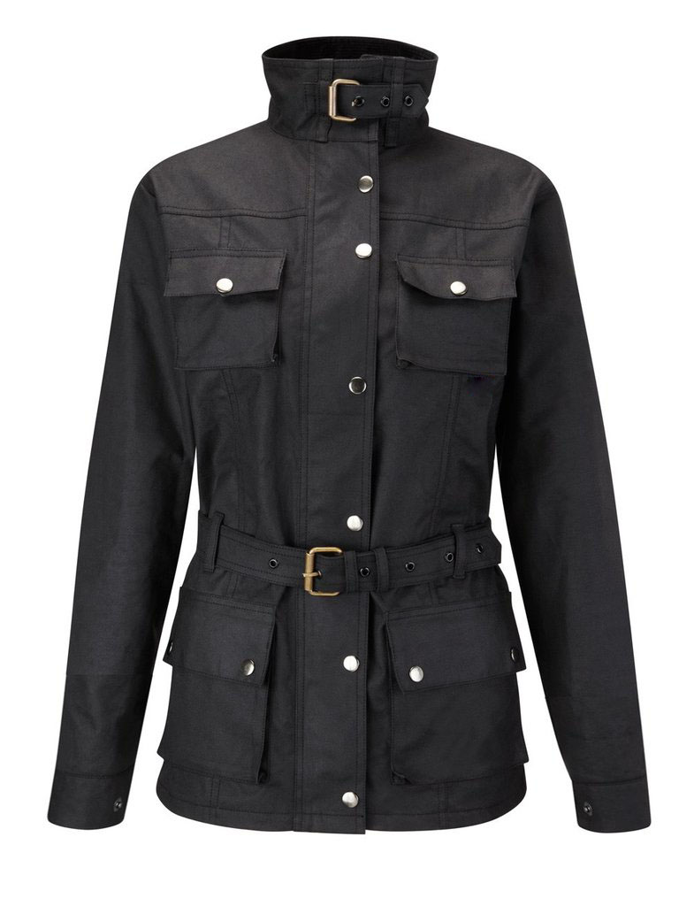 Havana Ladies Wax Cotton Motorcycle Jacket  DR-006