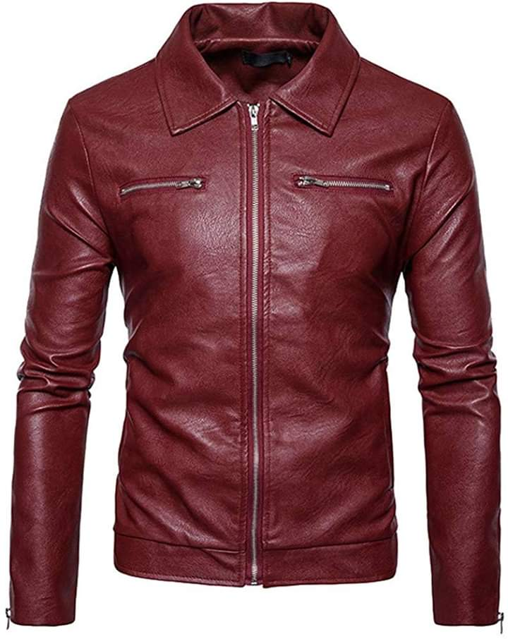 Motorcycle Men Leather Jackets  TIMJ   013