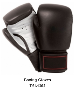 Genuine Leather Pro Style Boxing  Training Gloves TSI 1302