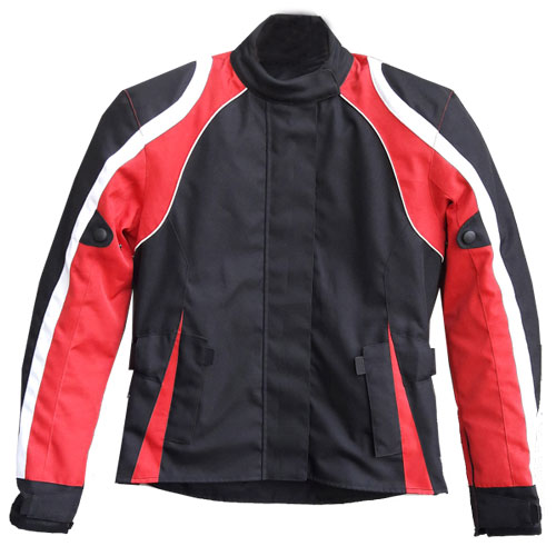 Motorbike Holly Textile Jackets stretch panels on inner arms DRJ-620