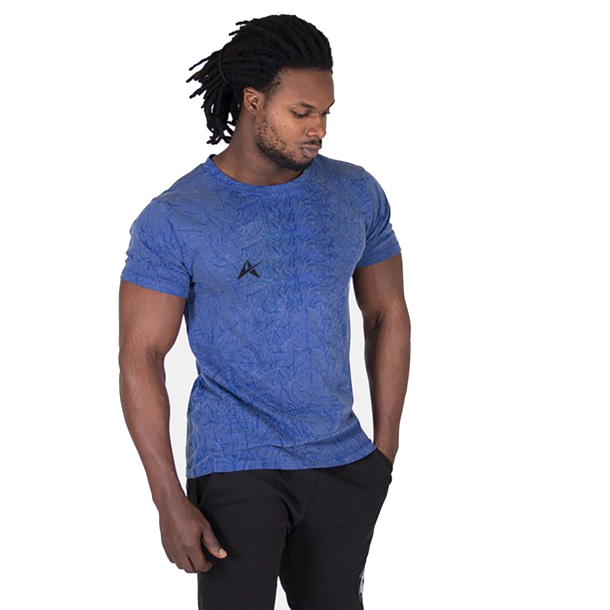 Custom Made Round Neck Men T-Shirt AI-015