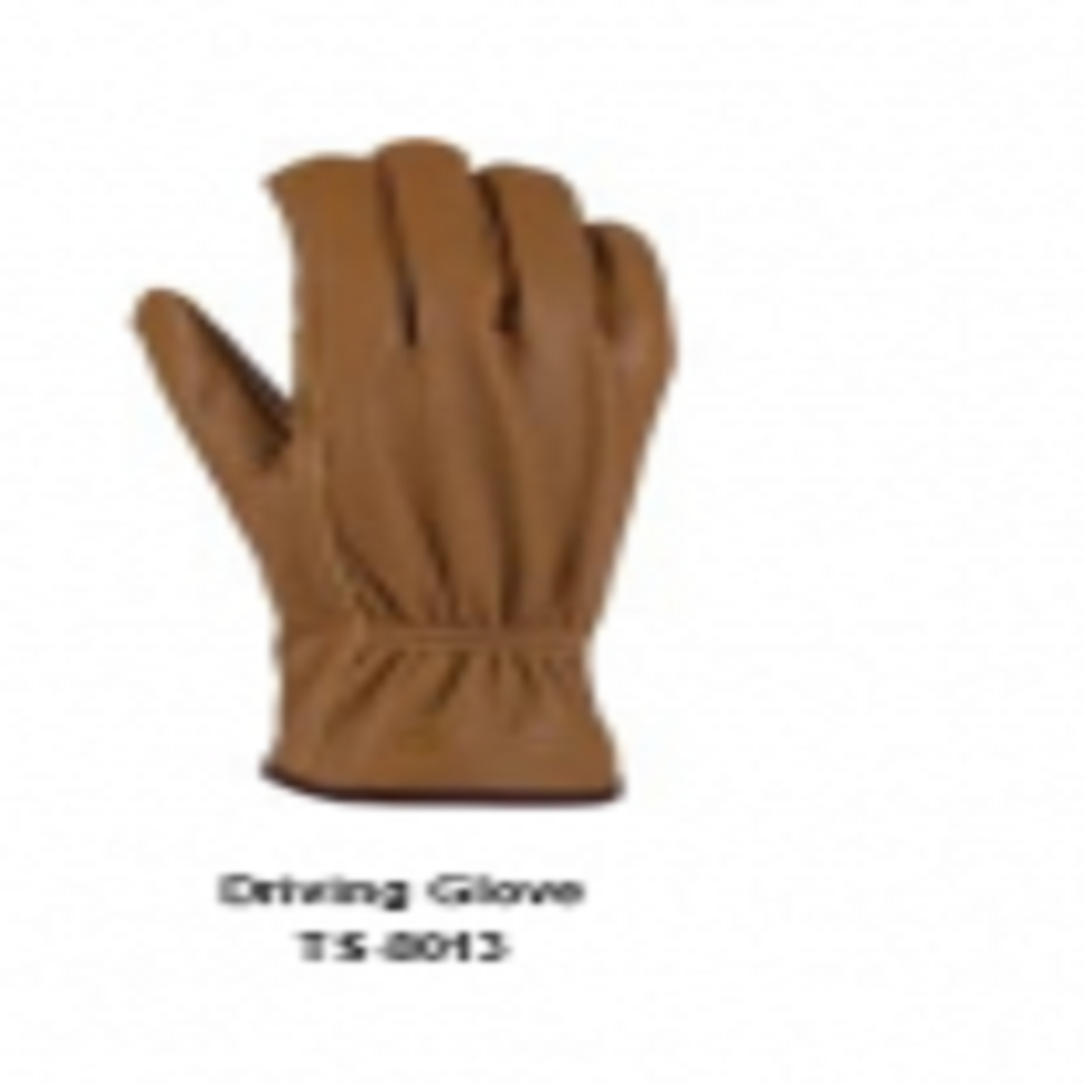 Leather Men's Fashion Driving Gloves Model No. TSI 8013