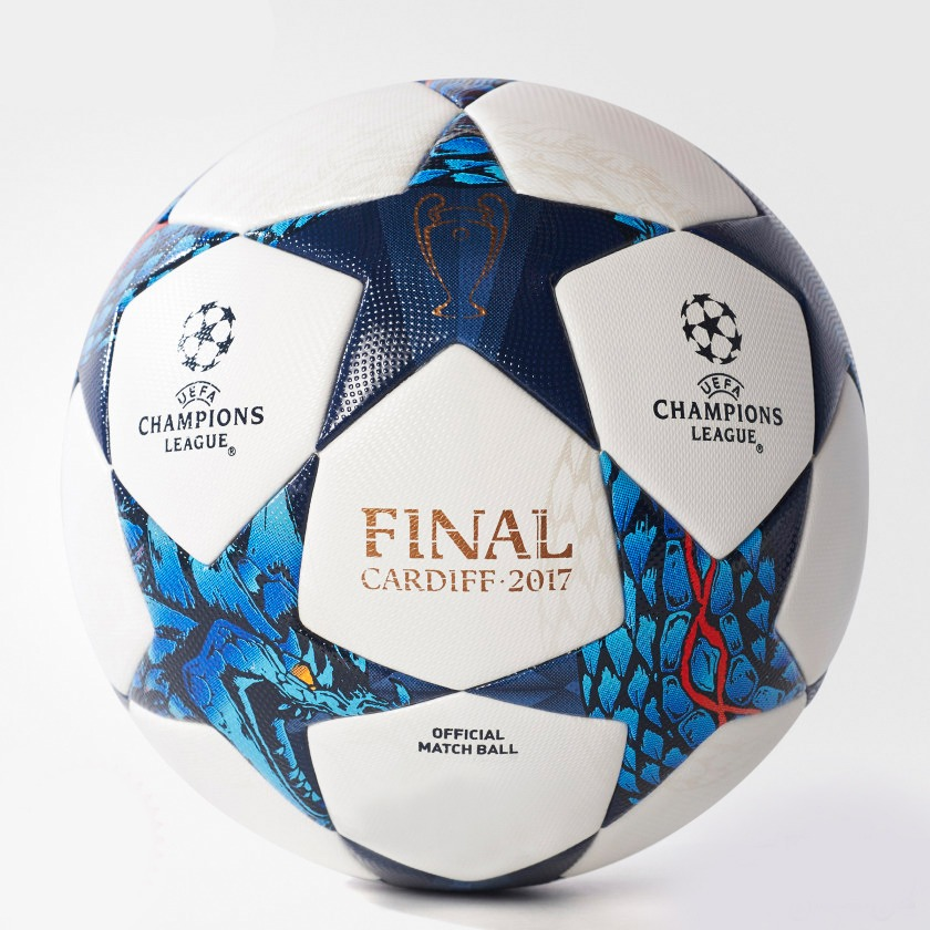 UEFA Champions League Final Cardiff  Thermal Molded Football PE-520