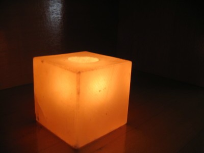 Salt Lamp LED with USB Cord Included Model No SL-33