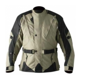Men Cordura Leather Jacket TSI­ 1701