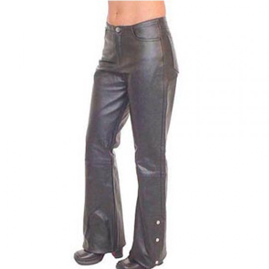 Motorbike Leather Trousers  DRT-505