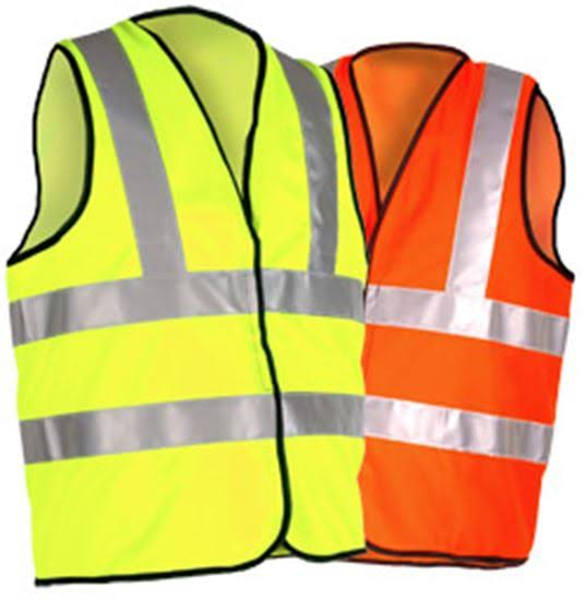 Safety Vest  High Visibility Safety Vest, Large FZI-601