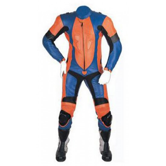Motorbike & Auto Racing Leather Suit  DR-119